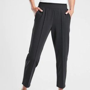 Athleta Venice Pintuck Pants size XL Black